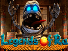 Legends of Ra играть на деньги в казино Эльдорадо