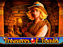 Treasures Of Tombs играть на деньги в казино Эльдорадо
